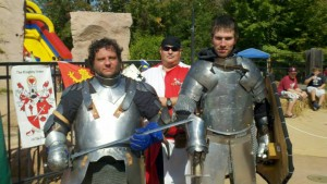 Knights volunteering time and efforts for charity