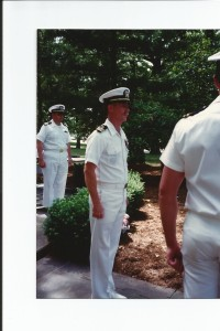 Bob Terry in his Navy Days