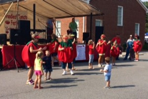 A day of fun and dancing at the Woodleaf Tomato Festival.