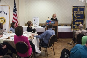 Enjoyed sharing my journey as a writer at the Rotary Club in Salisbury, NC.